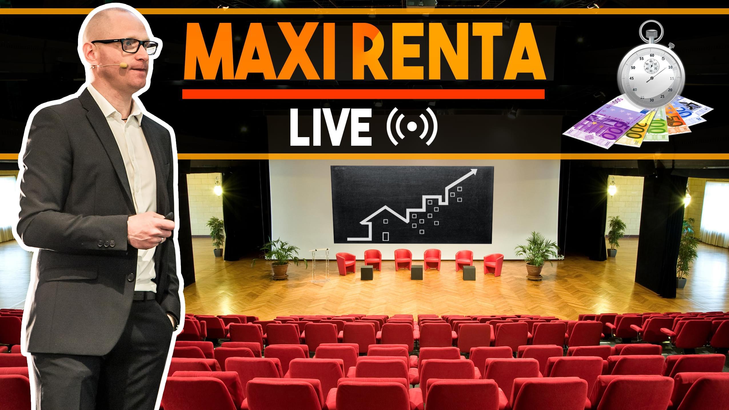 Replay séminaire MAXI RENTA Live