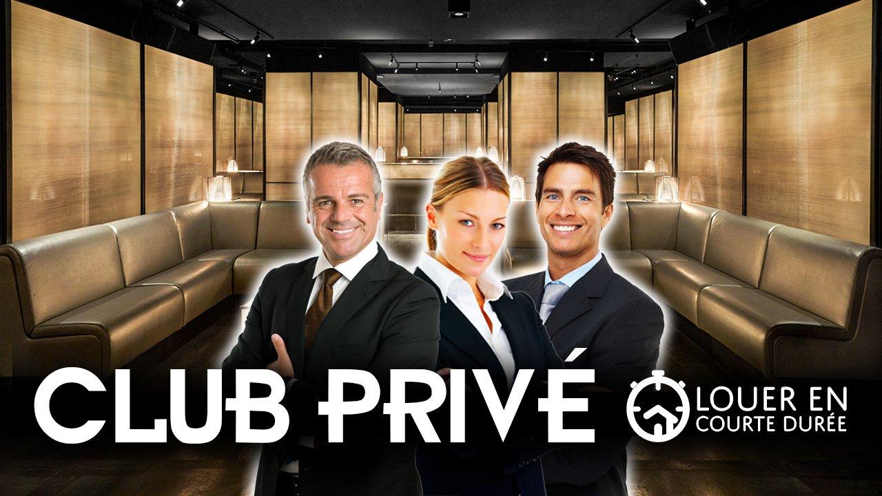 """Club privé """"Louer en courte durée"""""""
