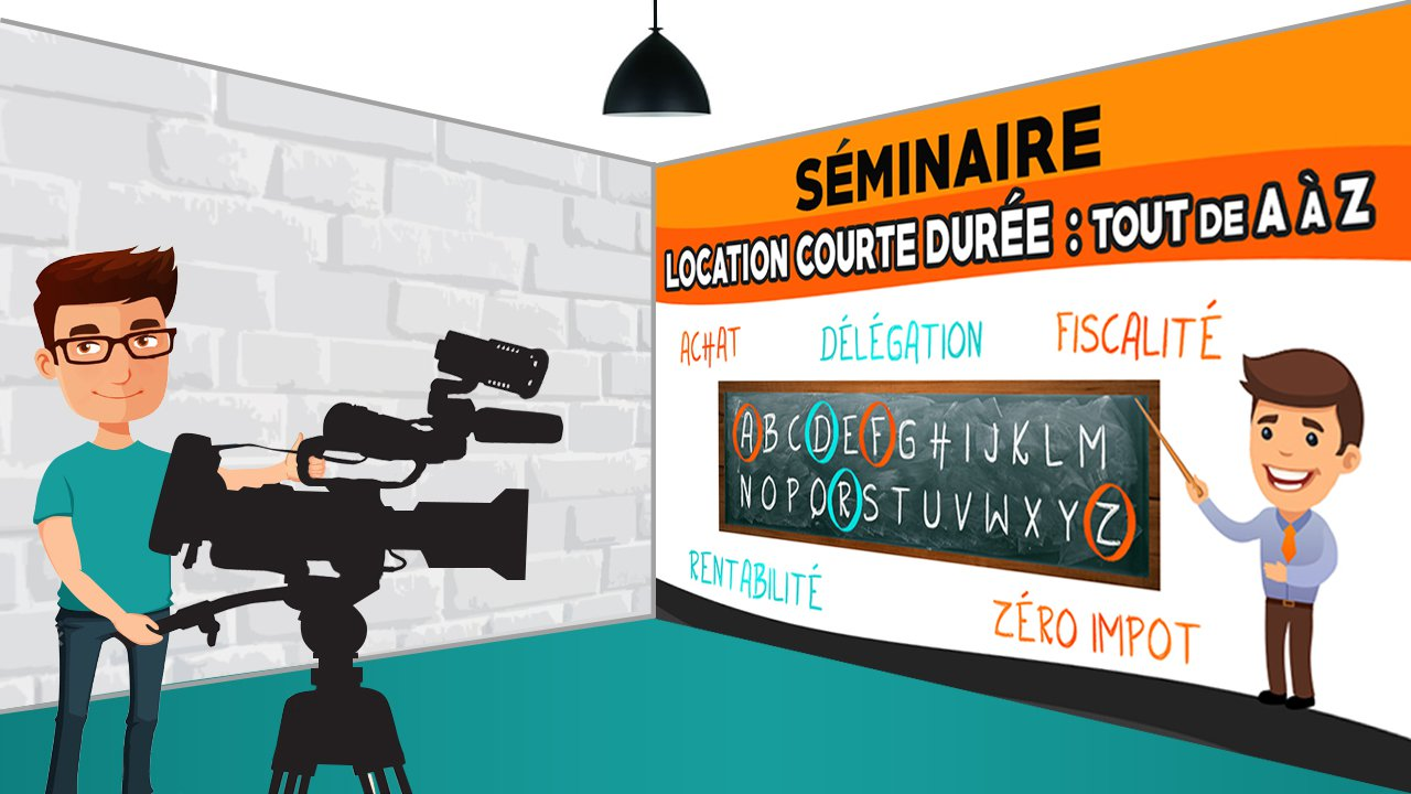"""Vidéo séminaire """"Location courte durée"""""""